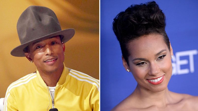 Spider-Man 2 : Pharrell Williams et Alicia Keys pris dans la toile