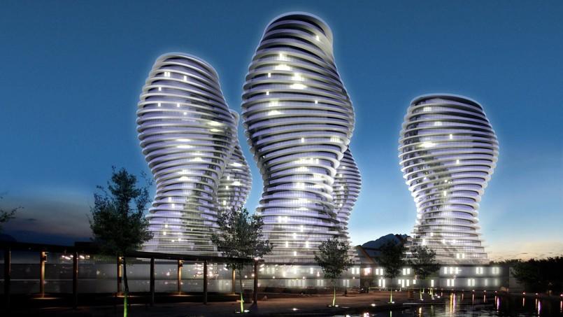 design me a planet tour du monde des immeubles les plus futuristes. Black Bedroom Furniture Sets. Home Design Ideas