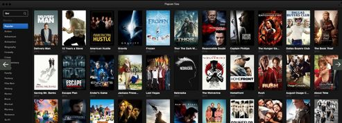 Cinéma : l'application Popcorn Time relancée par un collectif de pirates