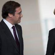 Merkel pousse le Portugal hors du plan d'aide