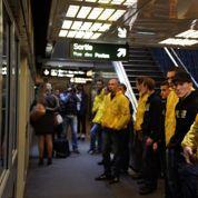 Les Identitaires en patrouille dans le métro lillois