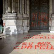 La Basilique de Montmartre vandalisée ou la banalisation des actes anti-chrétiens
