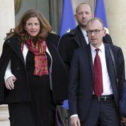Les magistrats en visite de courtoisie à l'Élysée