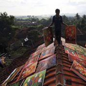 Un étonnant village de peintres à Java