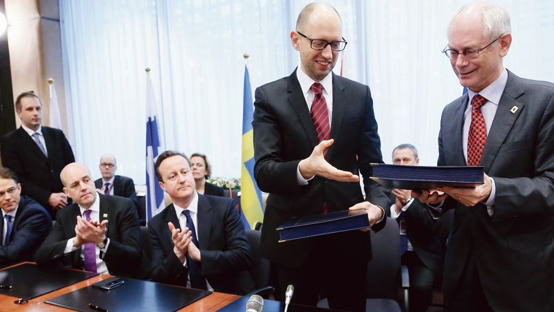 Les Vingt-Huit arriment l'Ukraine à l'UE