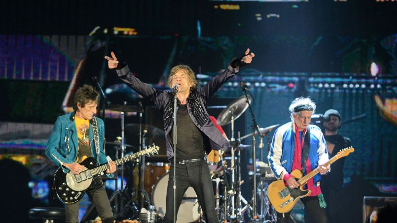 les rolling stones en concert au stade de france le 13 juin. Black Bedroom Furniture Sets. Home Design Ideas