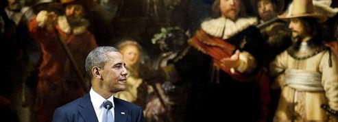 Barack Obama au sommet avec Rembrandt