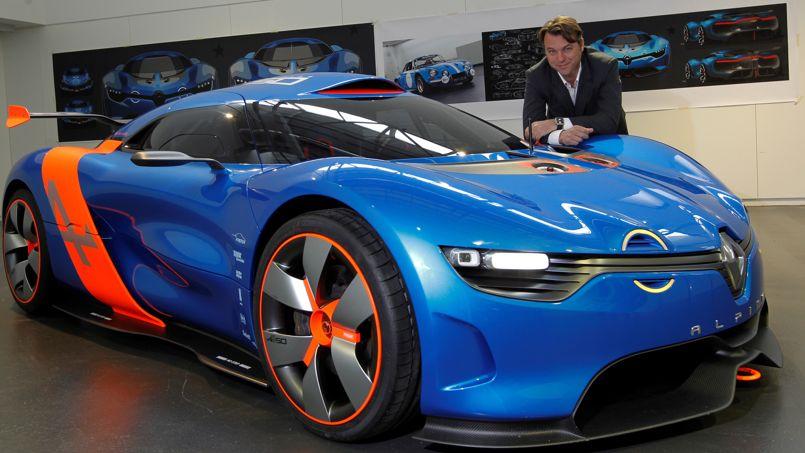 Le concept A110-50 porté par Laurens van den Acker et Carlos Tavares a vu le jour en mai 2012.