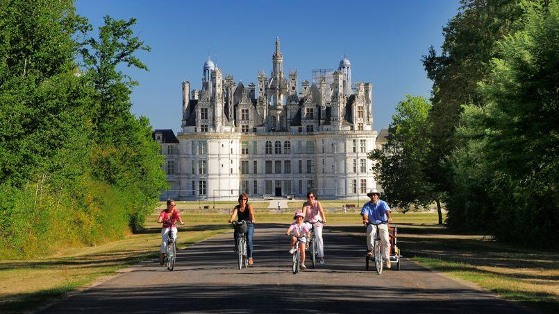 Les châteaux de La Loire… à bicyclette !