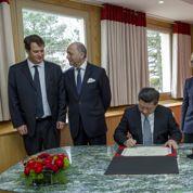 Le président chinois accueilli par la famille Mérieux à Lyon