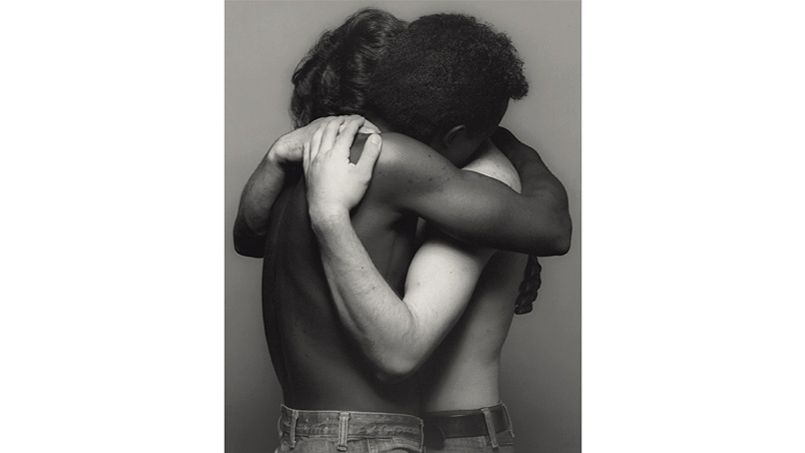 Robert Mapplethorpe, Embrace (Etreinte), 1982
