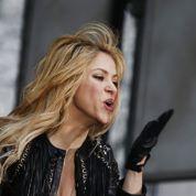 Shakira: la mariée était en noir
