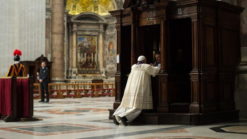 Pape : « La confession n'est pas un instrument de torture ! » PHO2e388798-b6b0-11e3-a00e-2667a3baa1c4-805x453
