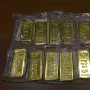 Arrêtée avec 14 lingots d'or, elle devra s'acquitter d'une forte amende
