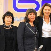 Les infirmières bulgares retrouvent leur «libératrice» Cécilia Attias