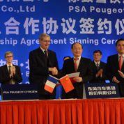 Une cérémonie à Pékin pour Dongfeng et PSA