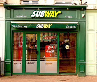 Installé sur seulement 20 m2, le Subway de Saint-Germain-en-Laye (Yvelines) est le plus petit de France. (DR.)