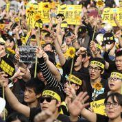 À Taïwan, la révolution des tournesols dit non à Pékin