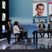 La soirée électorale fait le plein d'audience à la télévision et sur le Net