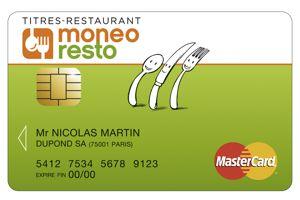 Le nouveau venu, Moneo Resto revendiquait dernièrement 15.000 clients. Crédit: DR