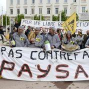 Les agriculteurs en colère contre la politique de Bruxelles