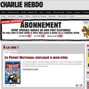 Charlie Hebdo offre des tarifs réduits dans les villes passées à droite et à l'extrême-droite