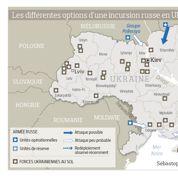 Les quatre scénarios d'une intervention russe en Ukraine