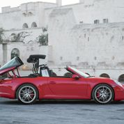 Porsche 911 Targa, variation au grand air