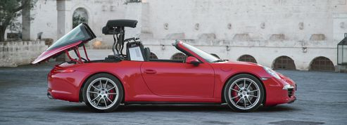 911 Targa, variation au grand air