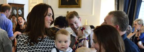 Premier engagement officiel pour le prince George