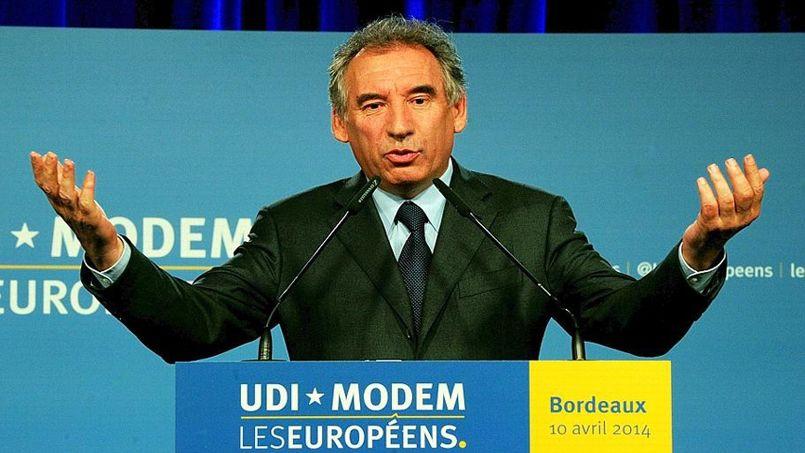 François Bayrou lance la campagne européenne des centristes