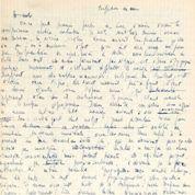 Un manuscrit de Sartre estimé à 50.000 euros mis aux enchères