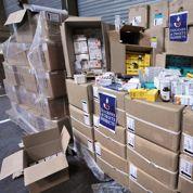 Saisie record de faux médicaments au Havre