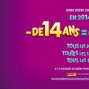Cinéma : succès de l'opération 4 € pour les moins de 14 ans