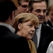 Merkel salue les sacrifices des Grecs