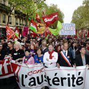 La gauche radicale dans la rue pour réclamer un changement de politique