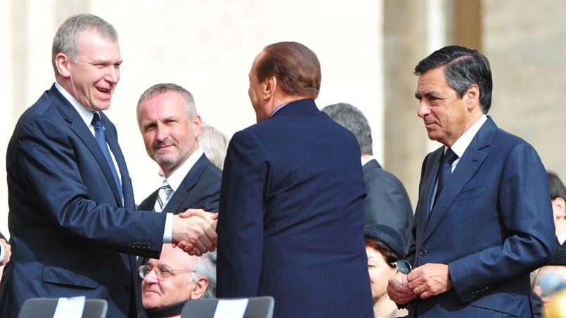 François Fillon, le 1er mai 2011, lors de la béatification de Jean-Paul II.