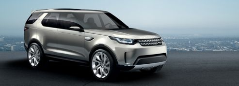 Land Rover Discovery Vision, un film d'anticipation