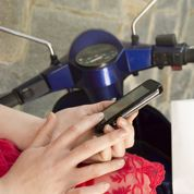 Assurance moto: bientôt le constat amiable sur smartphone