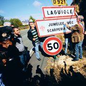 La bataille de Laguiole sur le bureau de Hollande
