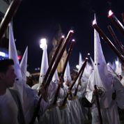 En Espagne, les pénitents célèbrent la Semaine Sainte