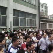 Une grève géante dans une usine du sud de la Chine