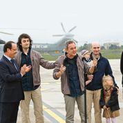 Le retour à la liberté des otages français en Syrie