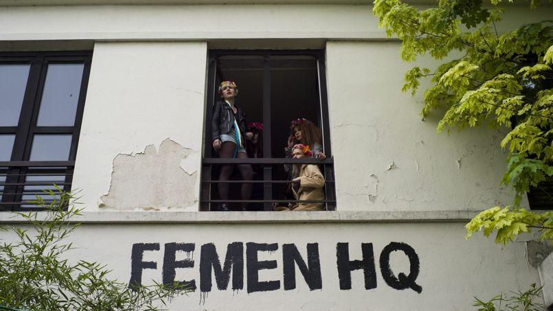 Les Femen menacées d'être expulsées de leur nouveau squat