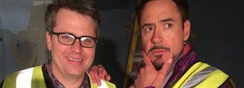 Robert Downey Jr. dévoile les coulisses d'Avengers 2 sur Twitter
