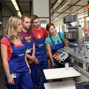 L'Allemagneforme moins d'apprentis que d'étudiants