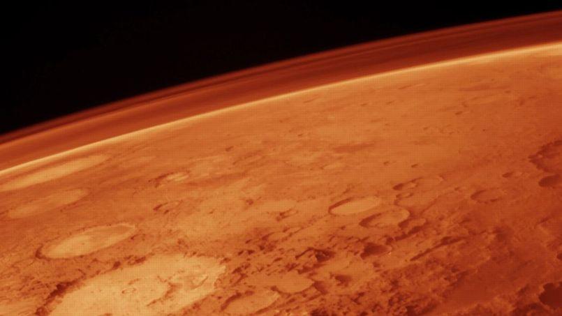 Première mesure de l'atmosphère primitive de Mars