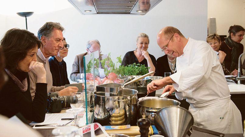 en cuisine avec un chef tre stelle - Cours De Cuisine Italienne Paris