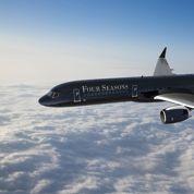 Un jet privé griffé palace pour tours du monde hyper luxueux