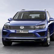 VW Touareg, à la retouche